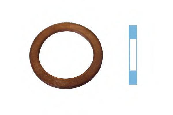 Уплотнительное кольцо, резьбовая пр CORTECO 005666S