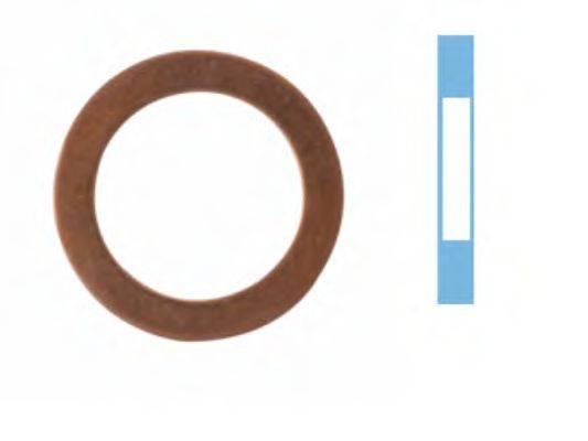 Уплотнительное кольцо, резьбовая пр CORTECO 005569S