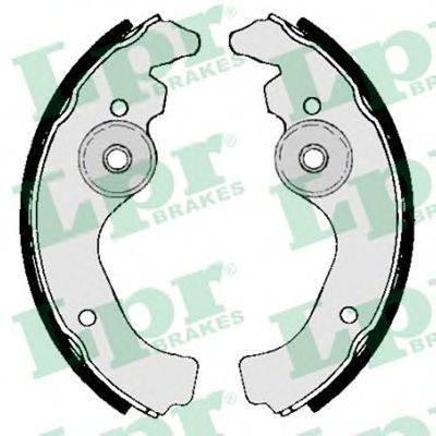 Комплект тормозных колодок LPR 00660