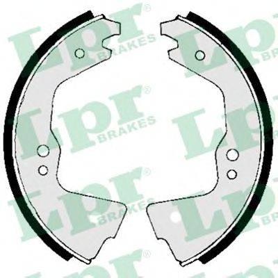 Комплект тормозных колодок LPR 00690