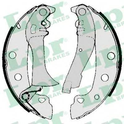 Комплект тормозных колодок LPR 00720