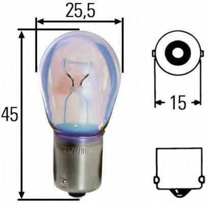 HELLA 8GA002073121 Лампа накаливания, фонарь указателя поворота; Лампа накаливания, фонарь сигнала тормож./ задний габ. огонь; Лампа накаливания, фонарь сигнала торможения; Лампа накаливания, фонарь освещения номерного знака; Лампа накаливания, задняя противотуманная фара; Лампа накаливания, фара заднего хода; Лампа накаливания, задний гарабитный огонь; Лампа накаливания, фонарь освещения багажника; Лампа накаливания, стояночные огни / габаритные фонари; Лампа накаливания; Лампа накаливания, фонарь указателя поворота; Лампа накаливания, фонарь сигнала торможения; Лампа накаливания, задняя противотуманная фара; Лампа накаливания, фара заднего хода