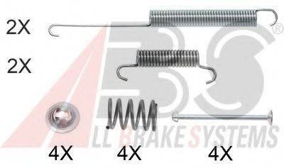 Комплектующие, тормозная колодка A.B.S. 0026Q