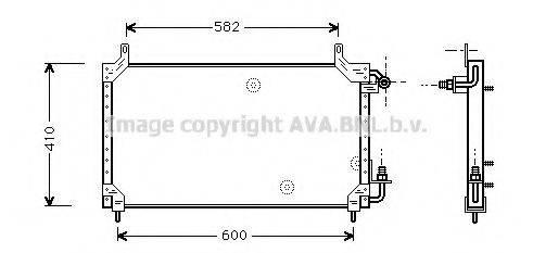 AVA QUALITY COOLING DW5006 Конденсатор, кондиционер