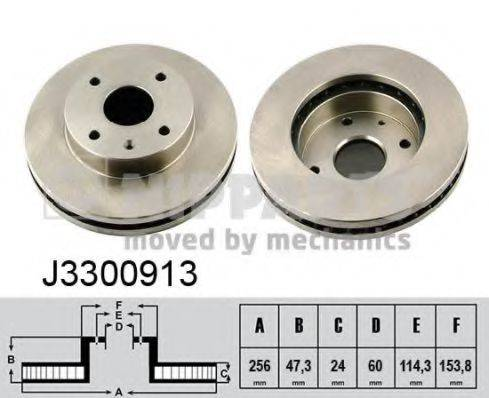 Тормозной диск NIPPARTS J3300913