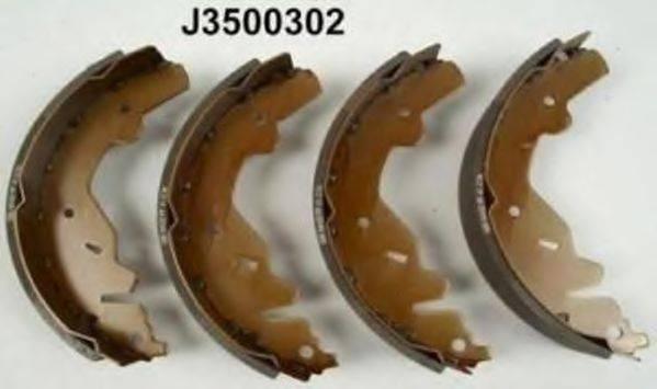 Комплект тормозных колодок NIPPARTS J3500302