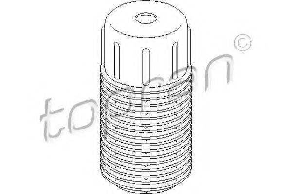 Защитный колпак / пыльник, амортизатор TOPRAN 200 432