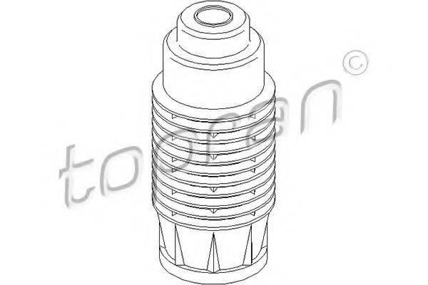 Защитный колпак / пыльник, амортизатор TOPRAN 200 433