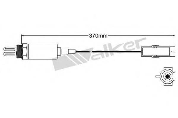 WALKER PRODUCTS 25021001 Лямбда-зонд