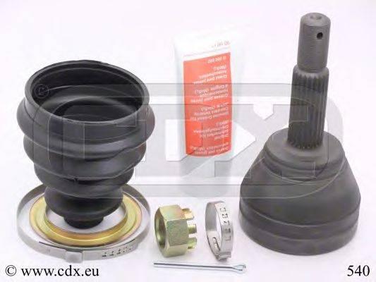 CDX 540 Шарнирный комплект, приводной вал