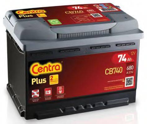 Стартерная аккумуляторная батарея; Стартерная аккумуляторная батарея CENTRA CB740