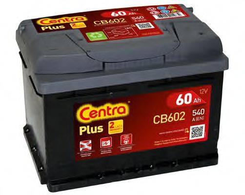 Стартерная аккумуляторная батарея; Стартерная аккумуляторная батарея CENTRA CB602