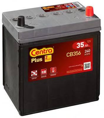 Стартерная аккумуляторная батарея; Стартерная аккумуляторная батарея CENTRA CB356