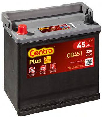 Стартерная аккумуляторная батарея; Стартерная аккумуляторная батарея CENTRA CB451