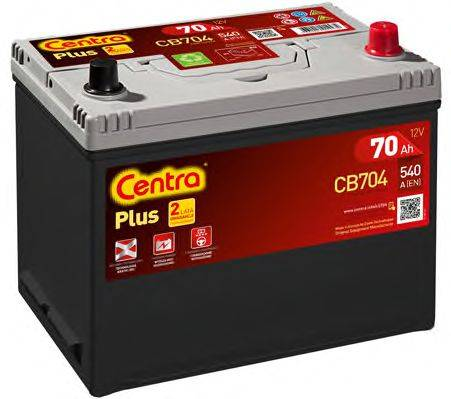 Стартерная аккумуляторная батарея; Стартерная аккумуляторная батарея CENTRA CB704