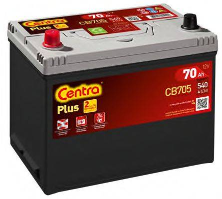 Стартерная аккумуляторная батарея; Стартерная аккумуляторная батарея CENTRA CB705