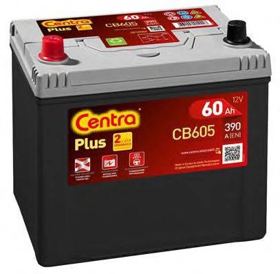 Стартерная аккумуляторная батарея; Стартерная аккумуляторная батарея CENTRA CB605