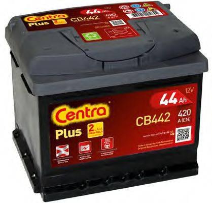 Стартерная аккумуляторная батарея; Стартерная аккумуляторная батарея CENTRA CB442