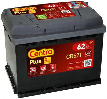 Стартерная аккумуляторная батарея; Стартерная аккумуляторная батарея CENTRA CB621