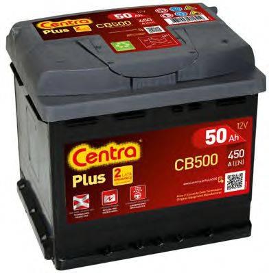 Стартерная аккумуляторная батарея; Стартерная аккумуляторная батарея CENTRA CB500