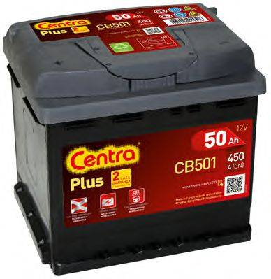 Стартерная аккумуляторная батарея; Стартерная аккумуляторная батарея CENTRA CB501