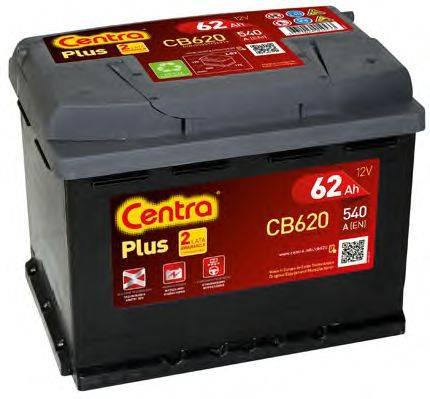 Стартерная аккумуляторная батарея; Стартерная аккумуляторная батарея CENTRA CB620