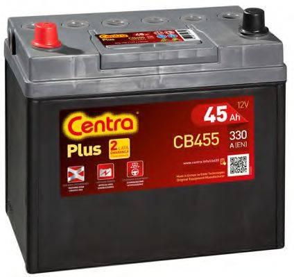 Стартерная аккумуляторная батарея; Стартерная аккумуляторная батарея CENTRA CB455