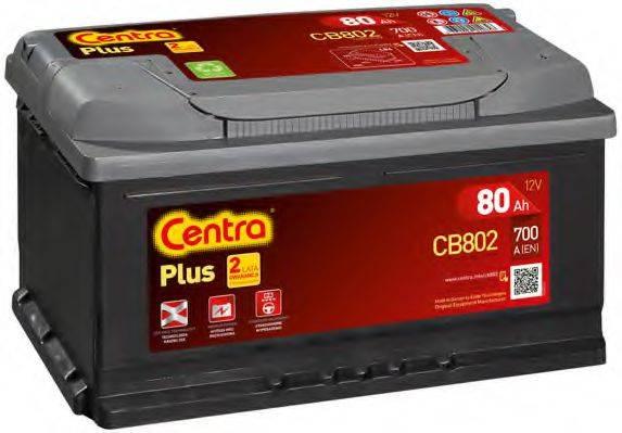 Стартерная аккумуляторная батарея; Стартерная аккумуляторная батарея CENTRA CB802