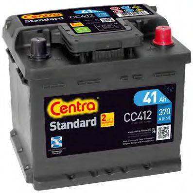Стартерная аккумуляторная батарея; Стартерная аккумуляторная батарея CENTRA CC412