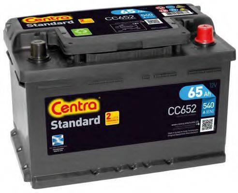 Стартерная аккумуляторная батарея; Стартерная аккумуляторная батарея CENTRA CC652