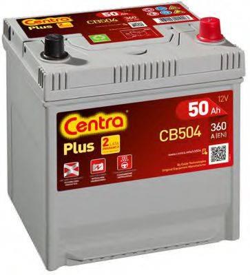 Стартерная аккумуляторная батарея; Стартерная аккумуляторная батарея CENTRA CB504