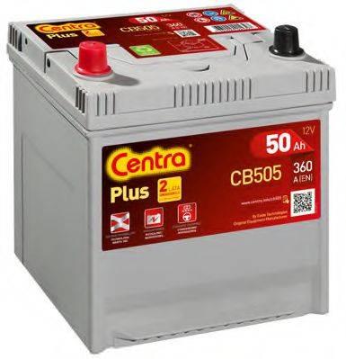 Стартерная аккумуляторная батарея; Стартерная аккумуляторная батарея CENTRA CB505
