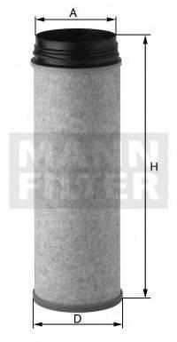 Фильтр добавочного воздуха MANN-FILTER CF 1470