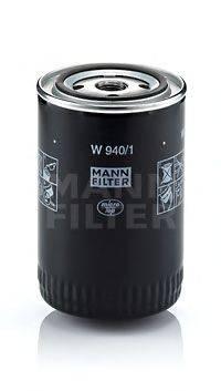 MANN-FILTER W9401 Масляный фильтр; Гидрофильтр, автоматическая коробка передач; Фильтр, Гидравлическая система привода рабочего оборудования