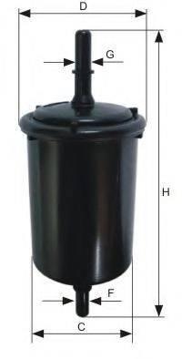 MANN-FILTER WK481 Топливный фильтр