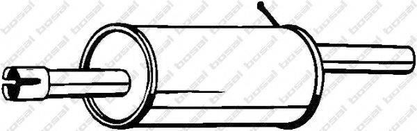 Глушитель выхлопных газов конечный BOSAL 200-555
