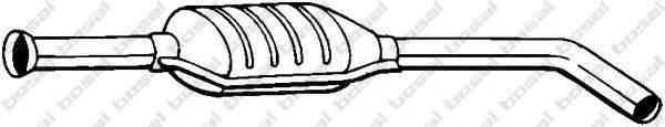 Средний глушитель выхлопных газов BOSAL 200-807