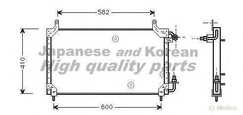ASHUKI J03301 Конденсатор, кондиционер