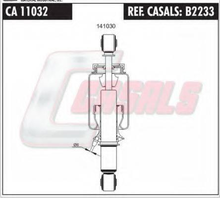 Гаситель, крепление кабины CASALS B2233