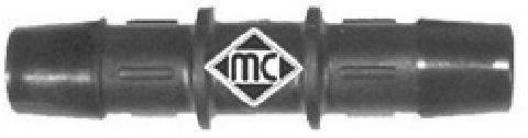 Соединительный патрубок, трубопровод охлаждающей жидкости METALCAUCHO 00045