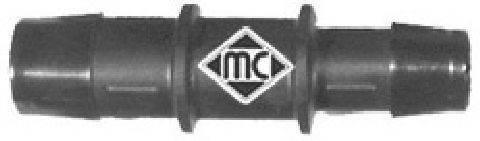 Соединительный патрубок, трубопровод охлаждающей жидкости METALCAUCHO 00050