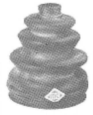 Пыльник, приводной вал METALCAUCHO 00493