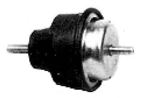 Подвеска, двигатель METALCAUCHO 00697