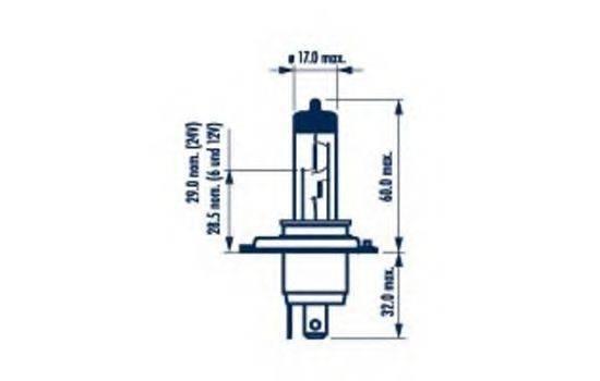 NARVA 48881 Лампа накаливания, фара дальнего света; Лампа накаливания, основная фара; Лампа накаливания, противотуманная фара; Лампа накаливания, основная фара; Лампа накаливания, фара дальнего света; Лампа накаливания, противотуманная фара