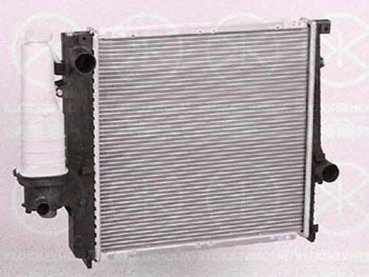 Радиатор, охлаждение двигателя KLOKKERHOLM 0060302124