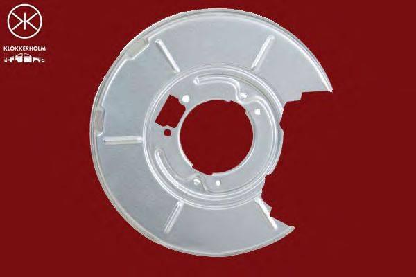 Отражатель, диск тормозного механизма KLOKKERHOLM 0060877