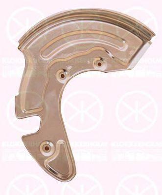 Отражатель, диск тормозного механизма KLOKKERHOLM 0018377