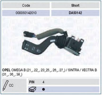 Выключатель на колонке рулевого управления MAGNETI MARELLI 000050142010